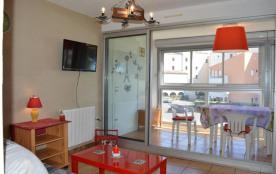 Cap d'Agde (34) - Quartier Plage Richelieu - Résidence Nauticap. Appartement 2 pièces cabine - 33...