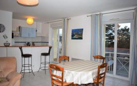 N°605 - Bel appartement VUE MER du balcon et vue