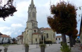 l'église et sa place