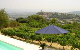 VAUCLUSE, Crillon le brave, Belle villa provençale 4 personnes, piscine privée et splendide vue !...