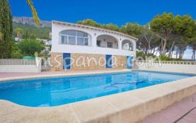 La villa en location pour des vacances en Espagn