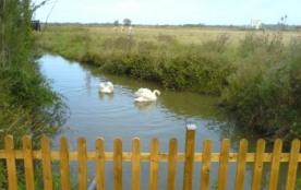 GITE *** Le CANAL DES CYGNES- 4/5 personnes-près des Thermes, calme et sérénité assurés - - Saint-Hippolyte