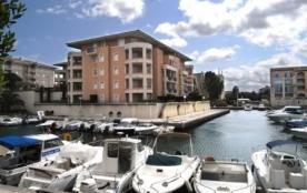 Fréjus (83) - Port Fréjus - Résidence Nautica - Appartement 2 pièces cabine de 45 m² environ pour...