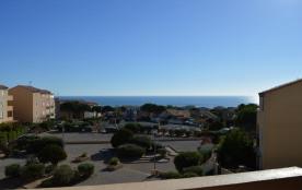 Résidence les Terrasses de la Méditerranée - Appartement 2 pièces avec vue mer.