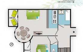Appartement 2 pièces 5 personnes (19)