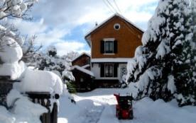maison style chalet6 pers 100m² hautes vosges - Le Thillot