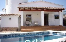 Villa de 6 personnes en location sur la Costa Br