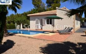 Villa à louer pour les vacances à Javea avec piscine et wifi |5029