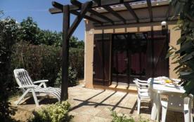 Résidence les Amandines. Pavillon 2 pièces cabine mezzanine - 36 m² environ - 6 personnes.