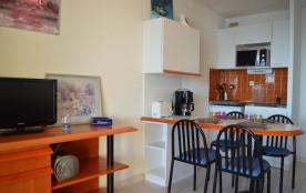 Banyuls sur Mer (66) - Quartier Port de plaisance - Résidence Thalacap. Appartement studio cabine...