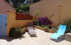 Appartement T2 belle vue mer grde terrasse + parking privatif