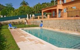 Villa entièrement climatisée, avec piscine sécurisée