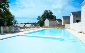 Maison 4 pers AUDIERNE dans résidence avec piscine intérieure et extérieure chauffées