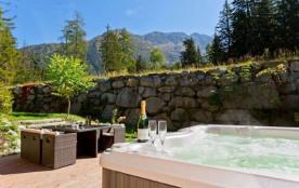 Chalet sur les pistes, avec spa, à Chamonix-Argent