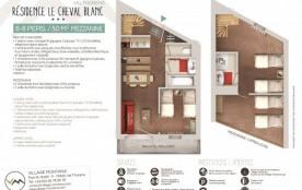 Résidence Le Cheval Blanc - Mezzanine