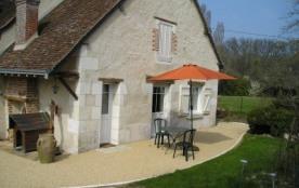 Gîte Cangey avec piscine 2 PERS entre Amboise et Chaumont