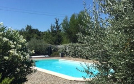Location en Luberon d'un Mas Provencal Authentique en Pleine Nature piscine 8x4