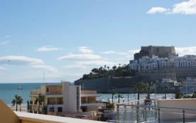 Très bel appartement en terrasse avec vue mer et château, Peñiscola