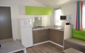 Cottage luxe 7/9 personnes - 38 m². Votre séjour au camping Les Sables de Cordouan à La Palmyre - Les Mathes