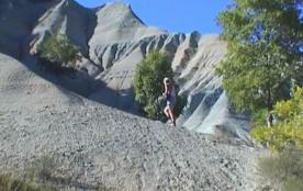 Vue du ravin de corboeuf 7 km