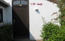 à louer bungalow à Bredene sur la côte belge.