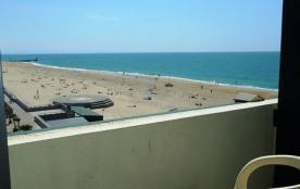 Studio avec une vue magnifique sur océan et plage quatrième étage (sans ascenseur) dans petite ré...