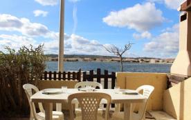 Résidence Les Mas de la Mer - Pavillon 2 pièces cabine avec une vue imprenable sur le lac.