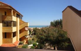 Saint Pierre la Mer (11) - Quartier du Port - Résidence Pleine Vue sur Mer. Appartement 2 pièces ...