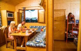 Camping Bon Repos - Bungalow Premium 5/6 pers 2 chambres