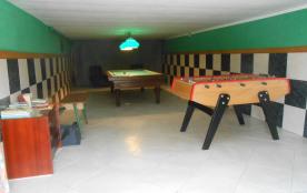 salle de jeux en sous sol.