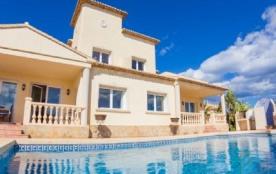 Superbe villa en location à Calpe pour un