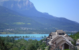 beau studio cabine 4 personnes vue sur le lac