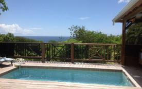 VILLA ORSALINA vue mer piscine privée terrasse 65 m2 avec carbet 11 m2