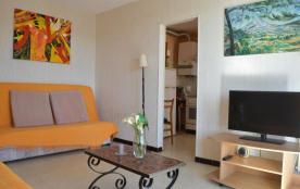 Appartement 2 pièces de 48 m² environ pour 6 personnes situé dans le secteur calme de la plage no...