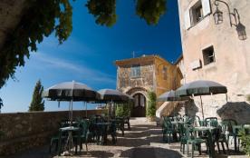 Appartement exceptionnel vue mer au cœur du village médiéval d'Eze