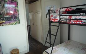 chambre avec lit mezzanine
