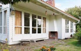 Maison pour 3 personnes à Skrea Strand