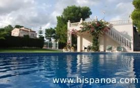 Location en Espagne - villa avec piscine proche parc Port Aventura