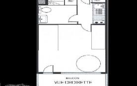 Appartement 2 pièces 6 personnes (518)