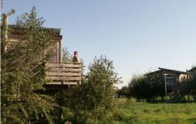 Camping Risle Seine Les Etangs - Cottage Confort sur pilotis 35m² (2 chambres) + terrasse