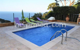 Location villa 6 personnes Begur - Belle vue mer