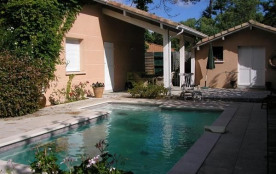 Villa 7 personnes avec piscine - jardin clos - quartier calme