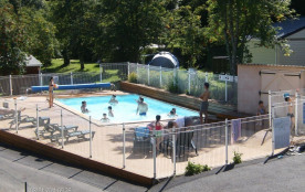 Camping L'Ombrage, 76 emplacements, 7 locatifs