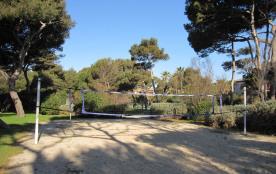 Terrain de volley-ball