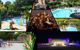 Airotel Camping Le Village Tropical Sen-Yan, 151 emplacements, 423 locatifs