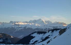 Le Mt Blanc vu du Haut Fleury