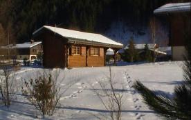 Blick auf die Unterkunft