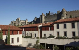 Adonis Carcassonne-RESIDENCE LA BARBACANE *** studio 2 pax
