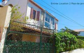 Location 2 PORTAIL DU REZ DE JARDIN