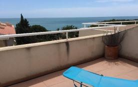 Appartement duplex dans résidence avec piscine, air conditionné dans le salon, 7 personnes, á Alc...